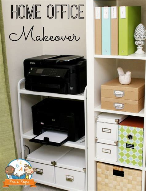 Printer Stand Ideas | 25 best ideas about printer storage on pinterest small