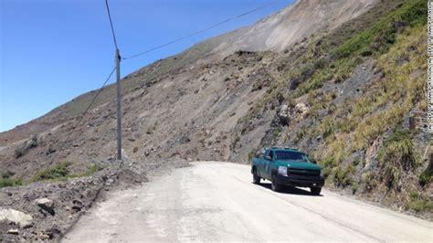 Pch Landslide 2017 - til the landslide brought it down yew