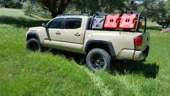 tacoma bed rack active cargo system for bed toyota