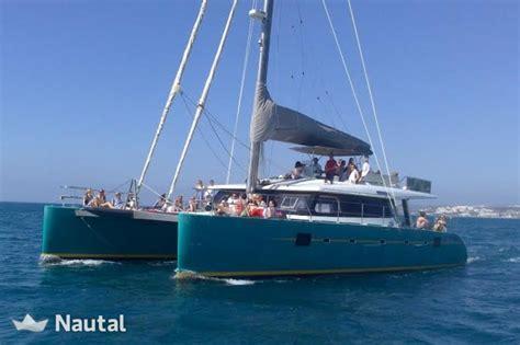 catamaran sailing malaga rent this luxury catamaran in estepona nautal