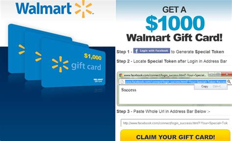 Gift Card Scams Walmart - wal mart facebook gift card scam the computer peeps