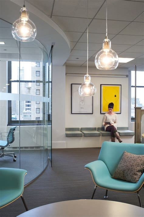 cool office lighting a look inside pandora s stylish chicago offices officelovin