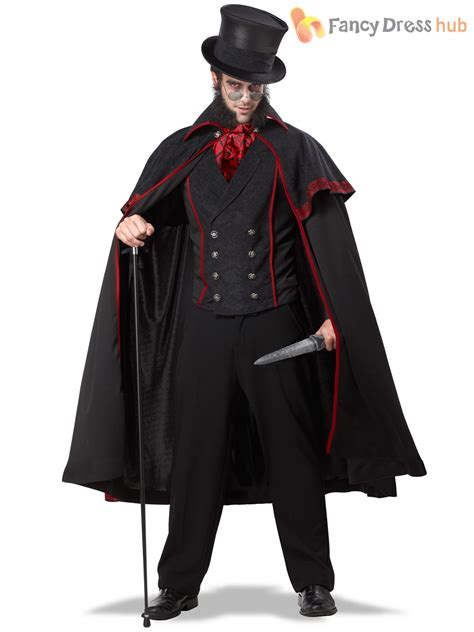 deluxe mens the ripper fancy dress costume