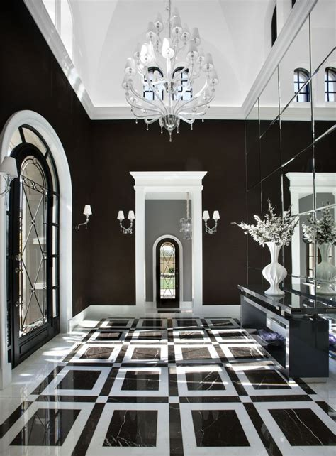 Black And White Home Interior by 114 Best Images About Luxe Black And White On Pinterest