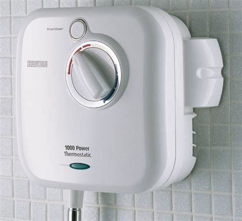 bristan newteam hydropower 1000xt thermostatic white