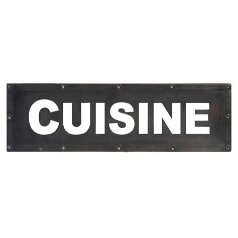 plaque metal cuisine plaque murale en m 233 tal 14 x 47 cm cuisine cutting