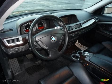 bmw 2005 interior bmw 7 series 2005 interior