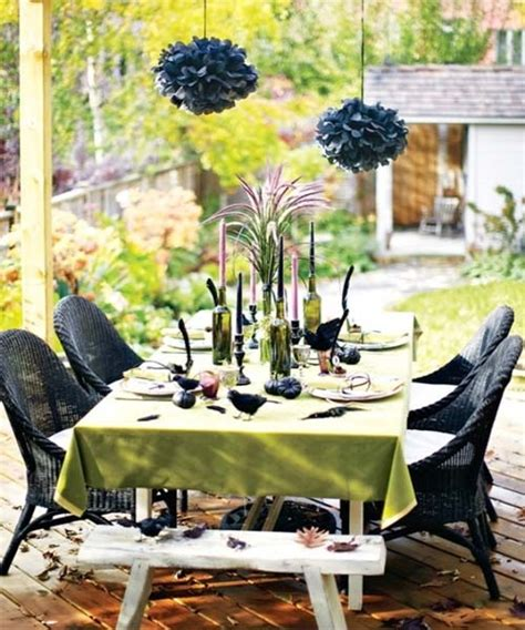 cool backyard party ideas 60 awesome outdoor halloween party ideas digsdigs