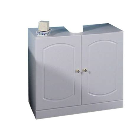 sous meuble lavabo sous lavabo opus blanc achat vente meuble vasque plan sous lavabo opus blanc cdiscount