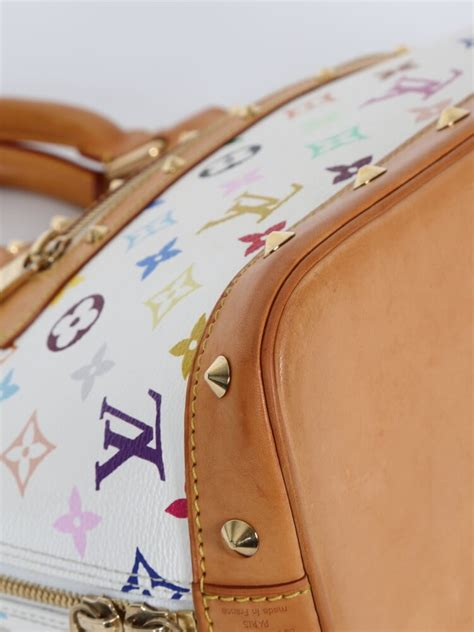 High Quality New Collection New Alma Bb New Louis Vuitton louis vuitton alma pm monogram multicolore canvas blanc luxury bags