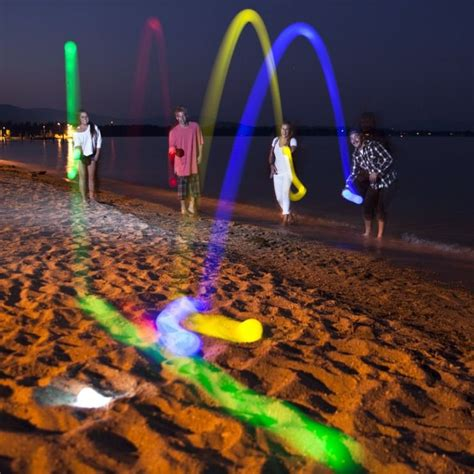 lighted bocce ball set 12 sandsational accessories for the best beach day