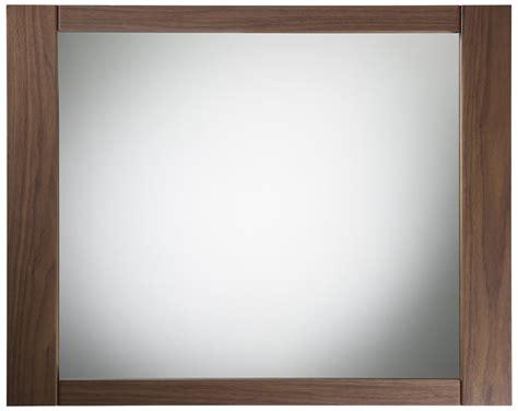 walnut bathroom mirror roper rhodes karma walnut framed mirror 600mm krm7maw