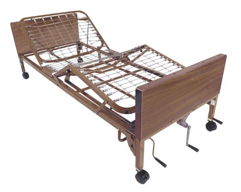 Hospital Bed Frames Multi Height Manual Hospital Bed Drive