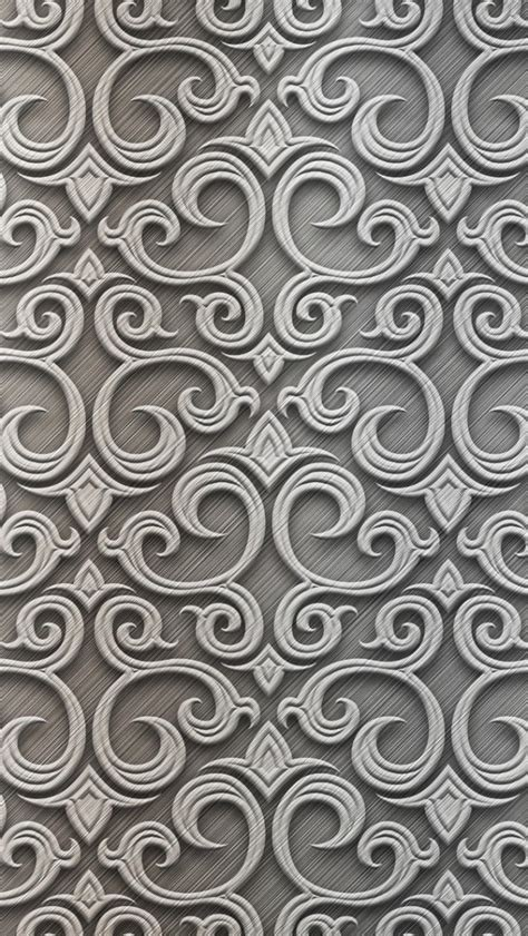 wallpaper for iphone 6 silver baroque silver pattern iphone 5 wallpaper phone