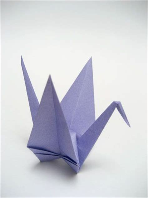 Peace Crane Origami - how to fold an origami crane origami