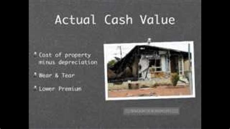replacement value homeowners insurance alot