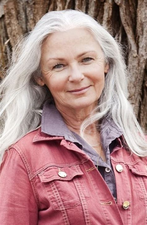long grey hairstyles women 50 1000 images about long hair older women on pinterest