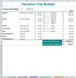 Vacation Planner Template by Vacation Trip Planner Vacation Planner Template