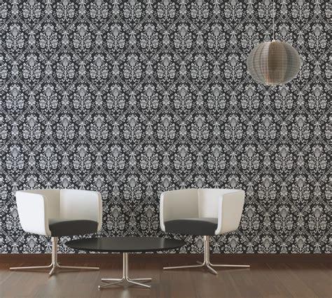classic restaurant wallpaper classic baroque wallpaper in black white and metallic