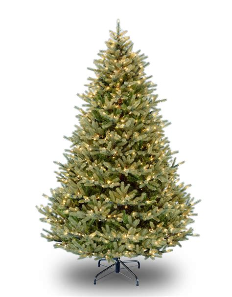 7ft pre lit norway spruce feel real artificial christmas