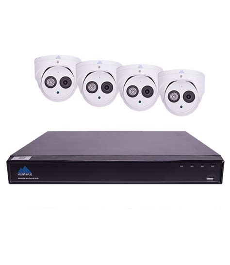 montavue home security system 8 channel 4k nvr 4 2k audio