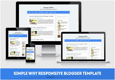 blogger responsive tutorial review simple why responsive blogger template free and