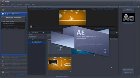 After Effects Tutorial Digitaljuice Part 1 4 Getting Started With Digital Juice Toxic Digital Juice Templates