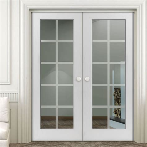 interior door with window insert 10 lite glass insert wood interior door wooden window door