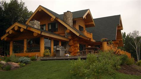 Handcrafted Log Home Builders - handcrafted log homes ontario prefab log homes log