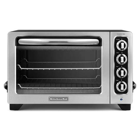 Kitchen Toaster Oven Kitchenaid 12 Quot Countertop Toaster Oven Reviews Wayfair