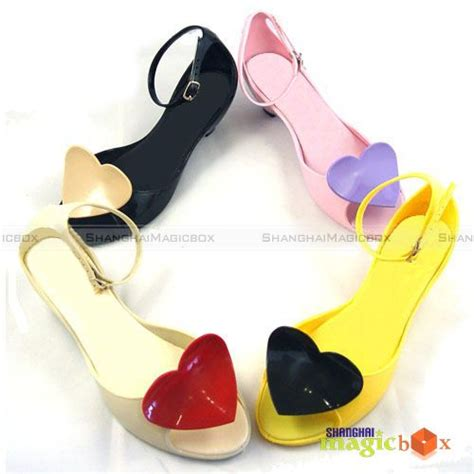 Jelly Shoes Mta 003 01 jelly plastic high heels shoes sandals balck