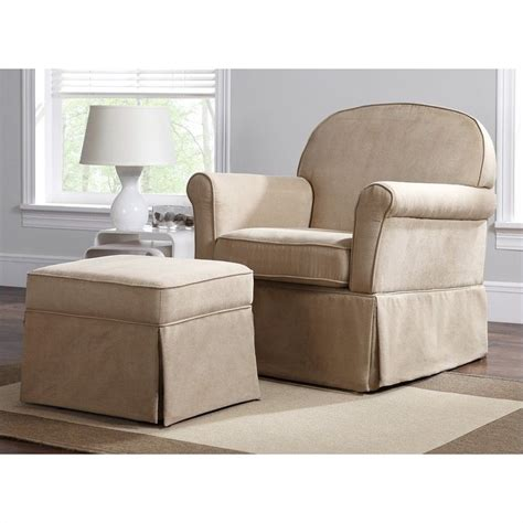Glider Ottoman Set Swivel Glider And Ottoman Set Microfiber Wm6009sgo M