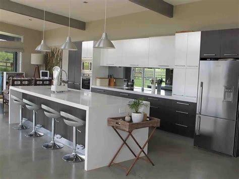 Modern Painted Kitchen Cabinets Gray And White Kitchen Cabinets Modern Temasistemi Net
