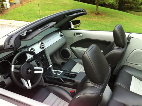 2009 ford mustang interior pictures cargurus