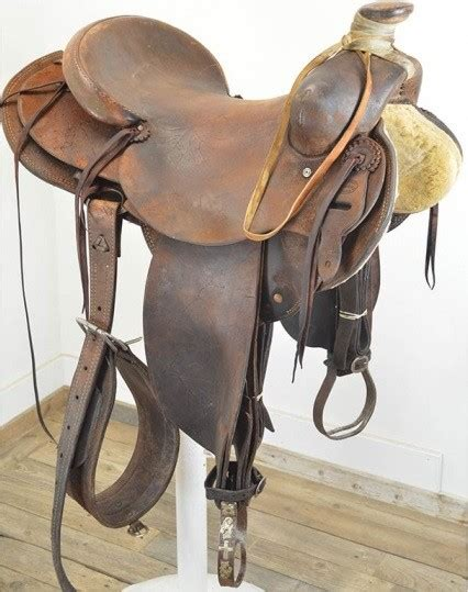Handmade Ranch Saddles - used 16 quot nick hines maker handmade ranch saddle