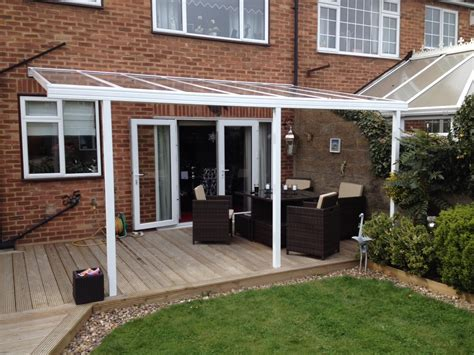 Canopy Cover by Another Clear As Glass Decking Cover Lumac Canopies