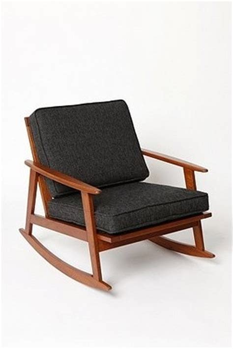 Armchair Rocking Chair by Mid Century Rocker Chair Modern Rocking Chairs By Outfitters