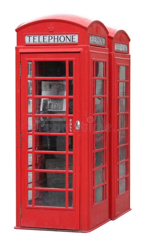 cabina telefono inglese cabina di telefono inglese classica immagine stock