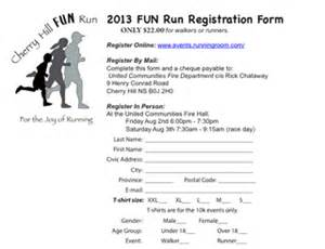 race registration form template registration form template word