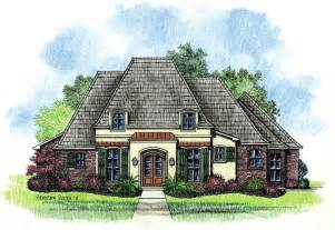 French Country Style House Plans by Adele Country French Home Plans Louisiana House Plans