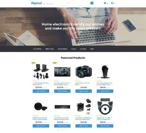 21 Php Ecommerce Themes Templates Free Premium Templates Shopping Templates Free In Php