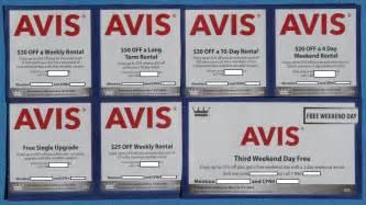 Avis Car Rental Available Avis Car Rental Upgrades Many Rental Options Exp 12