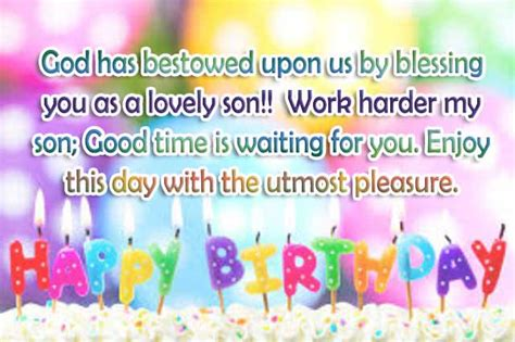 Happy Birthday Wishes For On Top 30 Happy Birthday Wishes For Son 2happybirthday