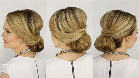 Low Bun Hairstyle by Prom Hairstyles Low Bun Www Pixshark Images