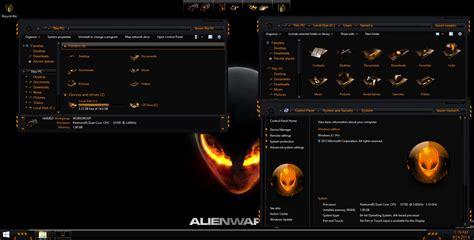 orange themes for windows 10 alienbreed orange skinpack skinpack customize your
