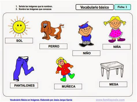 vocabulario en im 225 genes maestra de infantil y primaria maestra de infantil vocabulario b 225 sico en im 225 genes para