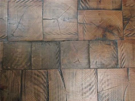 Reclaimed Wood Tile Flooring by Reclaimed Log End Wood Tile Flooring 8
