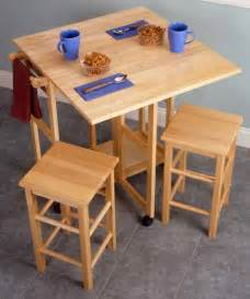 Kitchen Tables With Stools Tables With Stools For Small Kitchen Home Garden Design