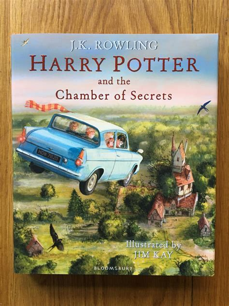 harry potter and the 1408845652 harry potter and the chamber of secrets illustrated edition signed by illustrator by rowling j
