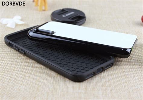 2d sublimation rubber 2 in 1 blank for iphone xr xs max xs heavy duty with metal